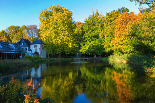 Kurpark Illingen und Burg Kerpen