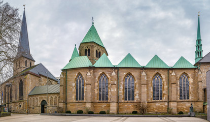 Essen Minster and St. Johann Baptist church, Germany