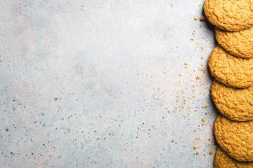Canvas Prints Cookies Healthy oatmeal cookies
