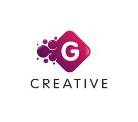 Dots Letter G Logo