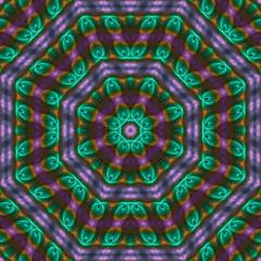 abstract digital fractal, beautiful design, mandala