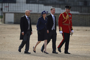 Welcome ceremony for King Willem-Alexander and Queen Maxima of the Netherlands at Horse Guards Parade in London