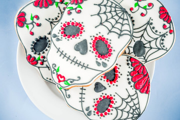 Mexican Day of the Dead cookies