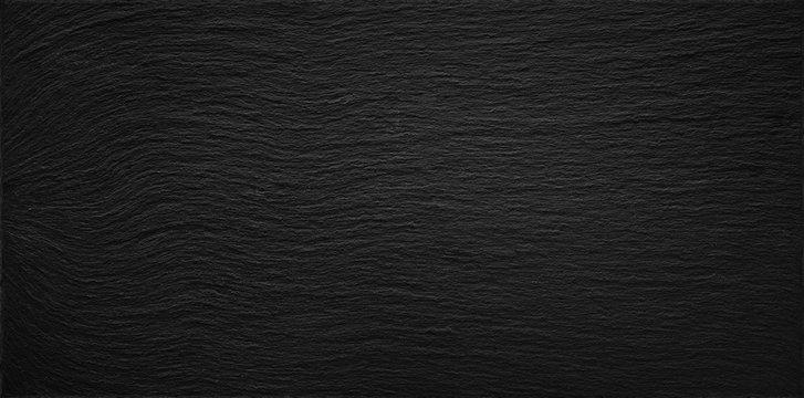 Schiefer Natur Steinplatte Tafel Design Hintergrund Schwarz