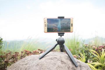 Mobile camera and landscape
