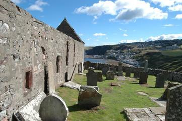 St John's Church and graveyard, Gardenstown, Scotland
