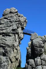 Externsteine mit Brücke bei Horn Bad Meinberg