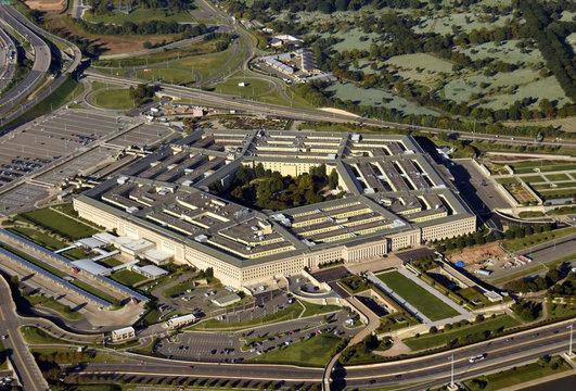 US Pentagon aerial view