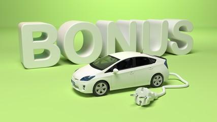 Voiture électrique, Bonus écologique