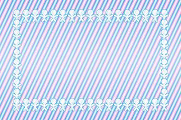 背景素材壁紙,コピースペース,縞模様,自由,ストライプ,ボーダー柄,フレーム,メッセージボード,パーテイー,