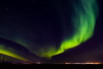 Aurora Borealis, Norilsk October 10, 2018