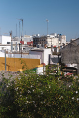 View of Seville city from a roof top, Spain