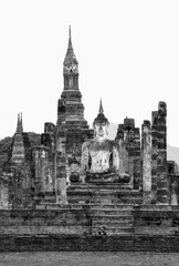 ruins of temple in thailand
