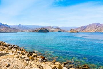 Beautiful landscape of Muscat coast, Oman