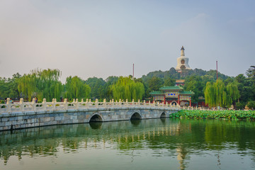 Park and Temple in beijing, China