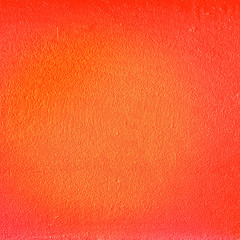 Wall Mural - Abstract orange color Texture of old concrete wall for background