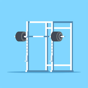 Picture of squat rack