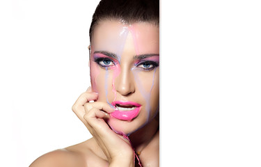Beauty and makeup concept