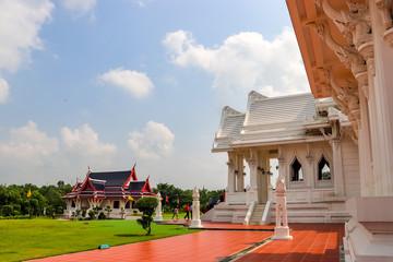 Foto auf Acrylglas Denkmal Royal Thai Monastery in Lumbini, Nepal