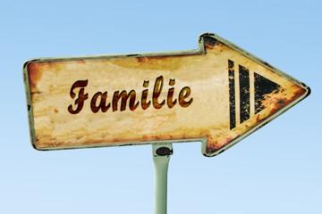Schild 328 - Familie