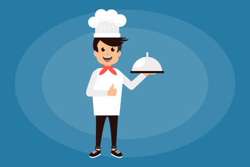 Content chef cook with dosh