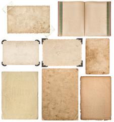 Paper sheet book cardboard photo frame corner