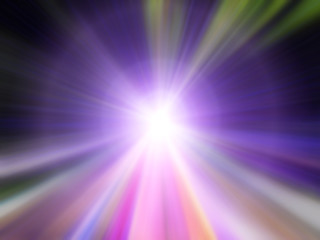 Soft and blurred of colorful speed action background