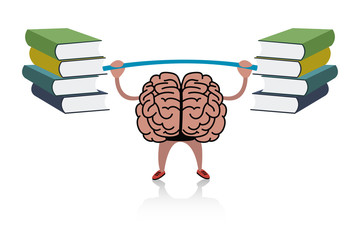 Brain training with books