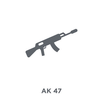 AK 47 icon from Army collection.