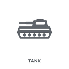 Tank icon from Army collection.