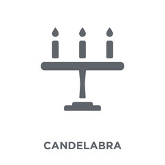 Candelabra icon from Wedding and love collection.