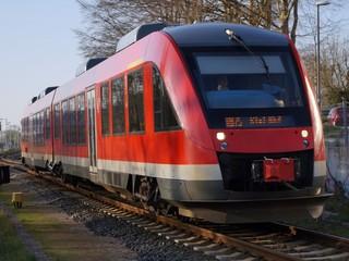 Regional train. Nord Germany