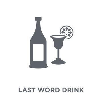 Last Word drink icon from Drinks collection.