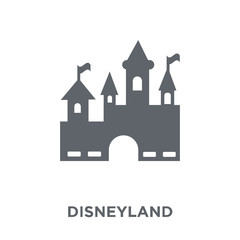 Disneyland icon from Entertainment collection.