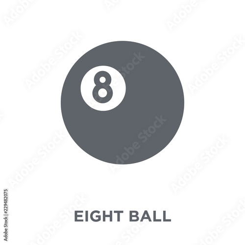 Eight ball icon from Arcade collection