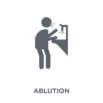 ablution icon from Hygiene collection.