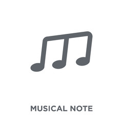 Musical Note icon from  collection.