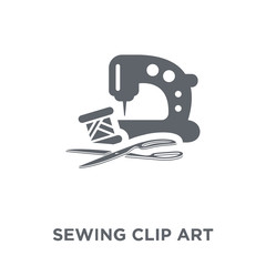 sewing clip art icon from Sew collection.
