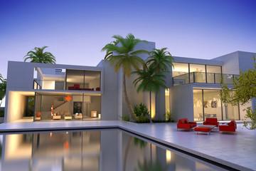 Sumptuous modern house