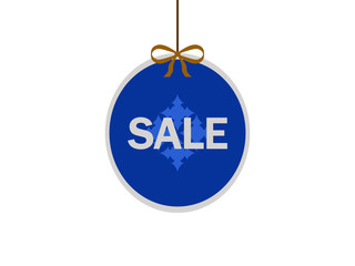 Christmas ball with text sale.