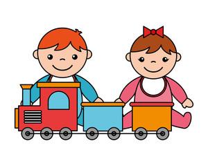 baby boy girl train kid toys