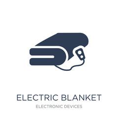 electric blanket icon. Trendy flat vector electric blanket icon