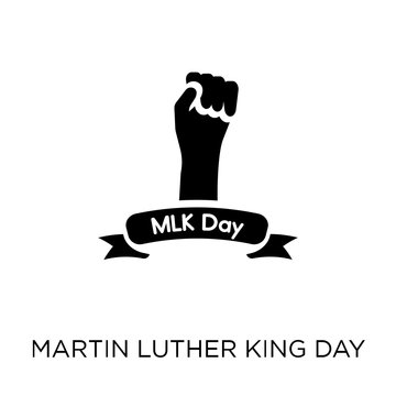 Martin Luther King Day icon. Martin Luther King Day symbol design from United states of america collection.