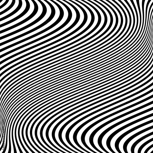 Abstract wavy lines texture