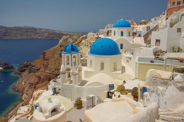 Charming views of Santorini