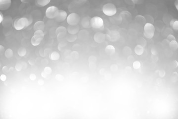 White Holiday Snow Background