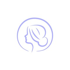 anti aging and beauty clinic logo