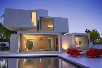 Modern  original house