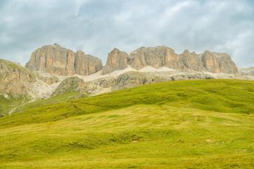Sella group massif, part of Italian Dolomites