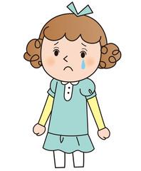少女E 泣き